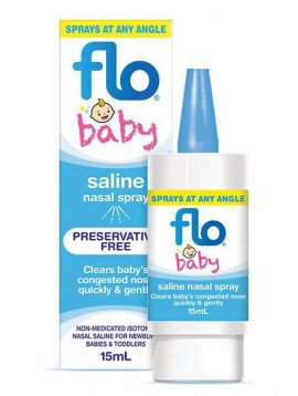 flo baby saline spray