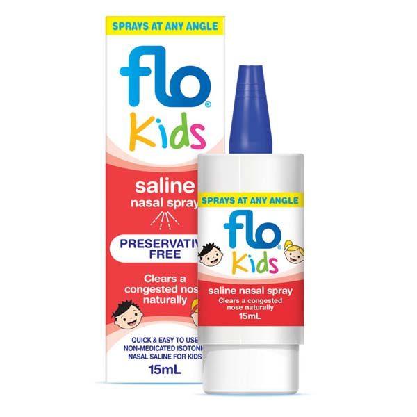 Saline drops for kids