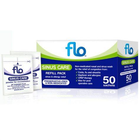 Flo Sinus Care Care Refill x50 sachets